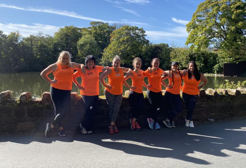 Mums to Marathon Ladies